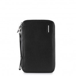 Travel document holder with credit card slots