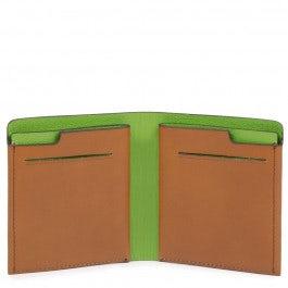 Portafoglio uomo pocket verticale con porta carte