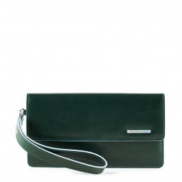 Smartphone wristlet wallet with coin case, credit