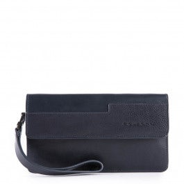 Smartphone wristlet wallet with coin pocket, cr