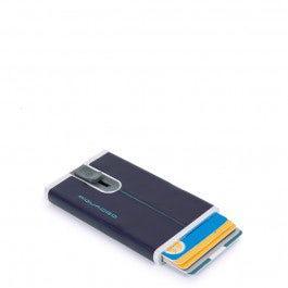Kreditkartenetui mit Schiebesystem