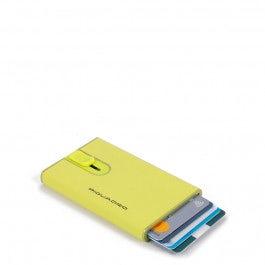 Porta carte di credito con sliding system