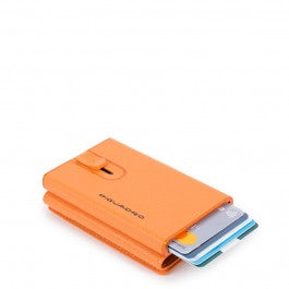 Compact wallet for banknotes and credit cards with