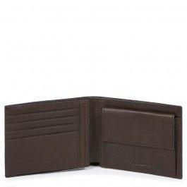Herrenbrieftasche mit Münz- und Dokumentenfach