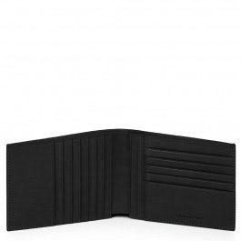 Billetero hombre con doce bolsillos porta tarjetas