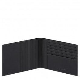 Men's wallet with twelve credit card slots