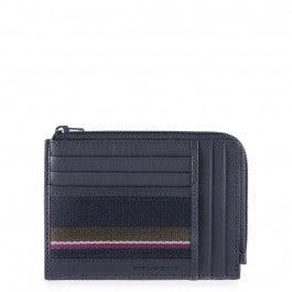 Bustina portamonete, documenti e carte di credito
