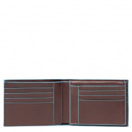 Men's wallet with document holder,