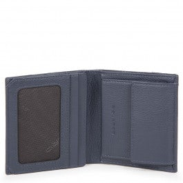 Pocket men's wallet with coin case