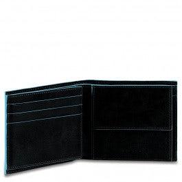 Herrengeldbörse im Pocketformat mit Münzfach,