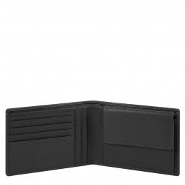Men's wallet with coin pocket