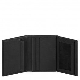 Men's wallet with credit card facilit