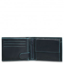 Men's wallet with coin pocket,
