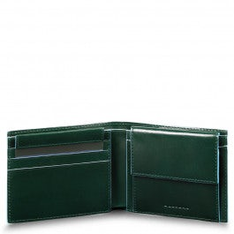 Men's wallet with coin case, credit card facility