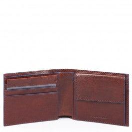 Herrenbrieftasche mit Münzfach, Kreditkartenfäch
