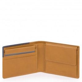Herrenbrieftasche mit Münzfach, Kreditkartenfächer