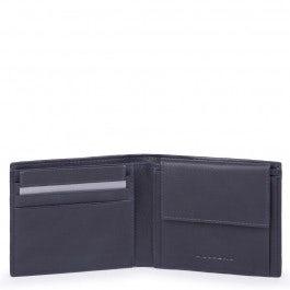 Herrenbrieftasche mit Hartgeldfach, Kreditkartenfä