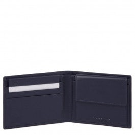 Men's wallet with coin pocket, credit card slots