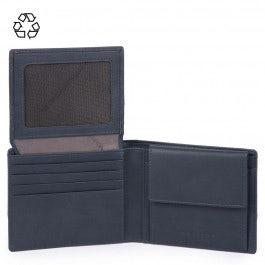 Herrenbrieftasche mit Klapp-Ausweisfenster
