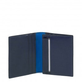 Men's pocket wallet with flip out window, removabl