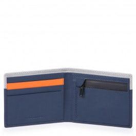 Schmale Herrenbrieftasche mit RV-Münzfach