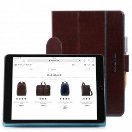 iPad® 10,2'' Lederschutzhülle mit Standfunktion