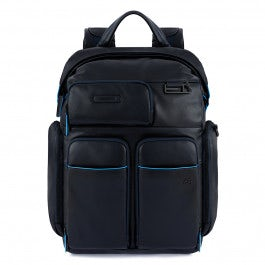 Fast-check, laptop and iPad® backpack with rain cover