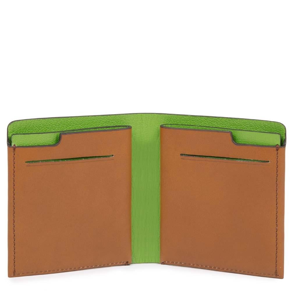 ab4ae939eb Portafoglio uomo pocket verticale con porta carte | Shop Piquadro