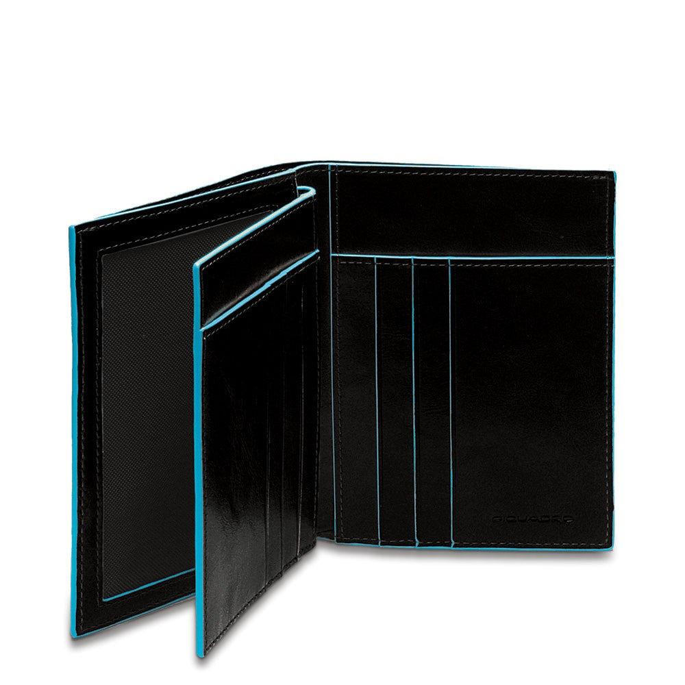 ef7490b71 Billetera vertical hombre con compartimentos para   Shop Piquadro
