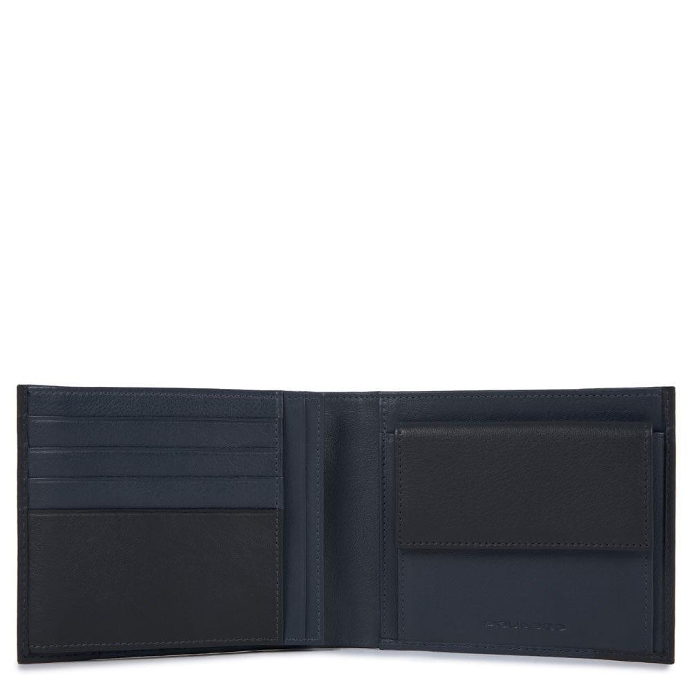 13018615be Portafoglio uomo con portamonete e portadocumenti | Shop Piquadro
