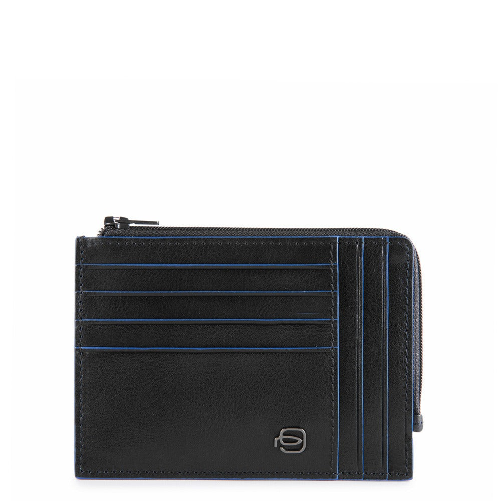 Piquadro Blue Square Porte-Carte de cr/édit 11 cm