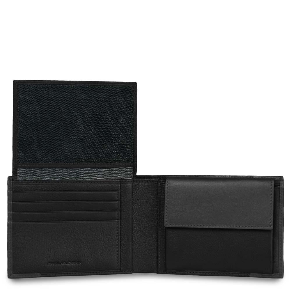 a5c7b69c29 Portafoglio uomo con porta documenti, portamonete   Shop Piquadro
