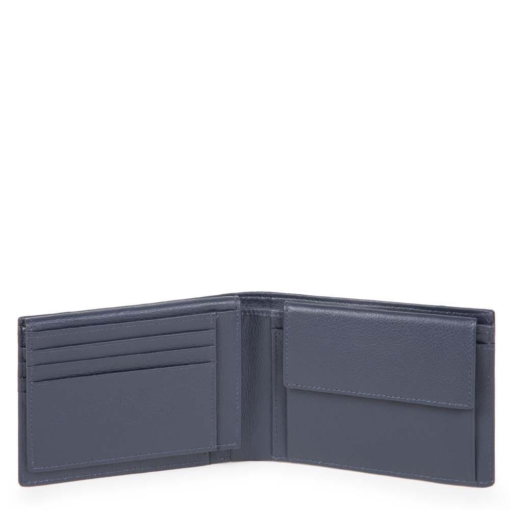 fb42b246e0 Portafoglio uomo con porta documenti, portamonete | Shop Piquadro