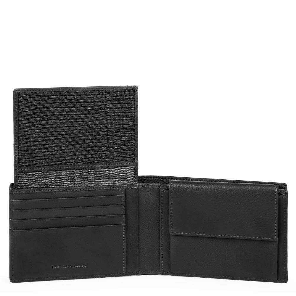 c0619c70ec Portafoglio uomo con porta documenti, portamonete,   Shop Piquadro