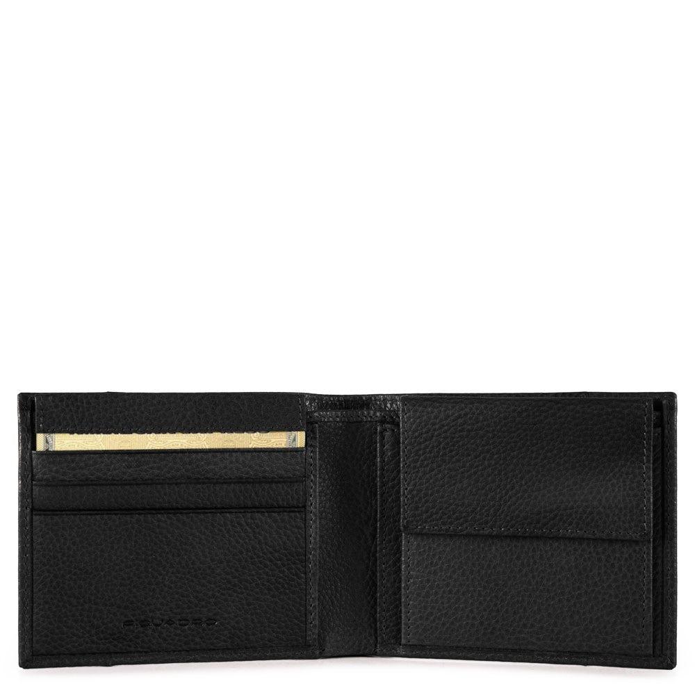 2cd74505cd Portafoglio uomo con portamonete, porta carte di c | Shop Piquadro