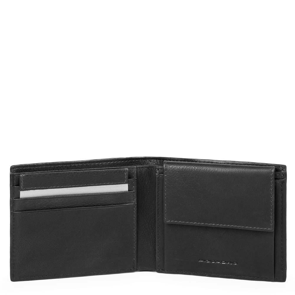 3259556a5c Portafoglio uomo con portamonete, porta carte di | Shop Piquadro