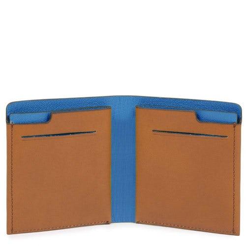 Portafoglio uomo pocket verticale con porta carte. da bca7c50a07de