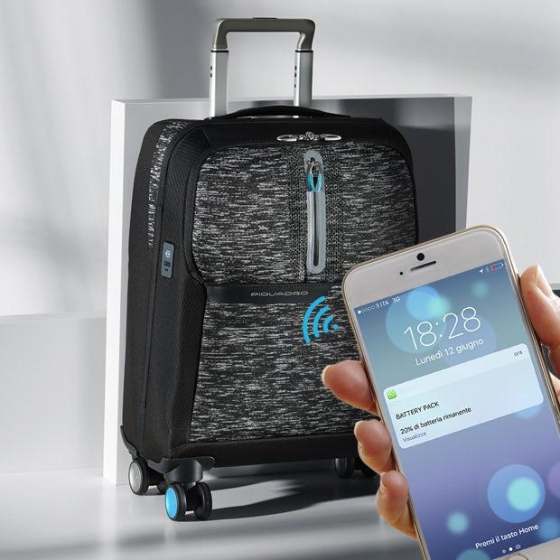 654d866018 Messaggi pop up che ci avvisa che il battery pack integrato ai prodotti si  sta scaricando · Trolley cabina porta PC e ...